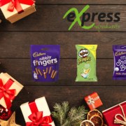 Cadbury products and more grace Express Refreshments this Christmas!