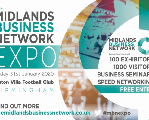 Coinadrink is returning to the Midlands Business Network Expo on 31st January!