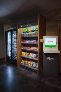 The Micro Market encourages healthier eating in the workplace with a wide range of products.