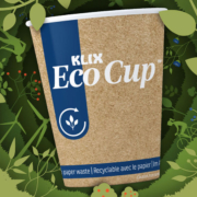 In what is a first in the vending industry, the Klix Eco Cup can be recycled as you normally would.