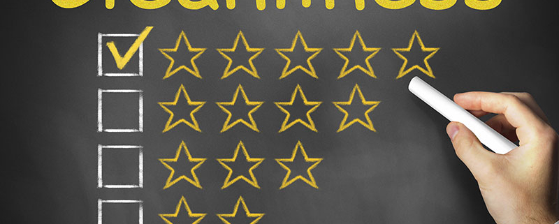 Coinadrink is proud to have a 5-star food hygiene rating!