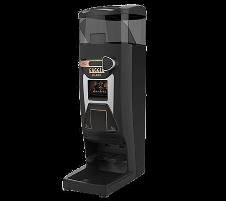 The Gaggia G10 coffee grinder.