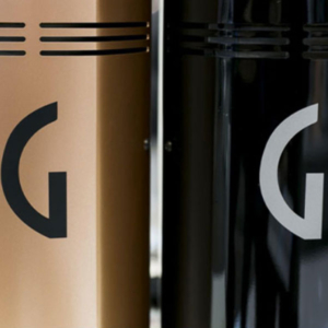 The Gaggia G10 coffee grinder.