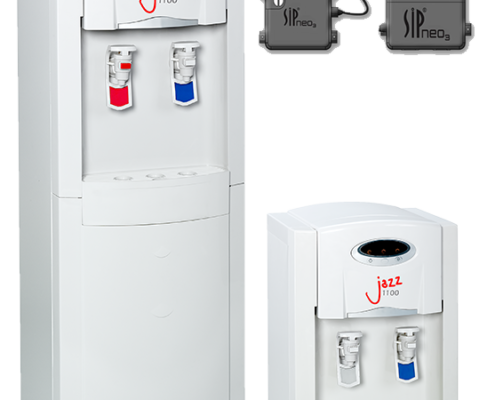 The Jazz 1100 POU water cooler comes factory fitted with breakthrough Sip Neo 3 technology for peace of mind.