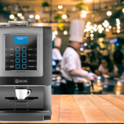 The Koro Prime Espresso tabletop coffee machine.