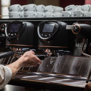 Gaggia La Reale is an industry approved traditional coffee machines that delivers everything the modern day Barista needs.