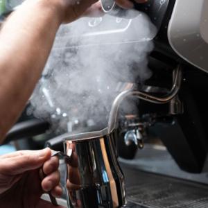 The La Giusta traditional coffee machine.