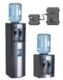 The AA First 3300X bottled water cooler comes in two different sizes, both with self sanitising technology.