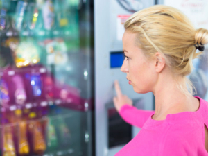 Vending machines can promote general hygiene.