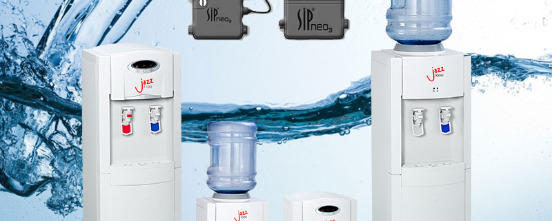 The AA First Jazz 1100 water cooler is hygienic and reliable.