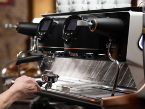 Traditional coffee machines from Coinadrink Limited of the West Midlands.