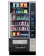 The reliable Merchant 4 Snack Vending Machine is ideal for smaller environments and includes the advanced Media 2 touchscreen display.