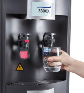 Contactless, self-sanitising water coolers.