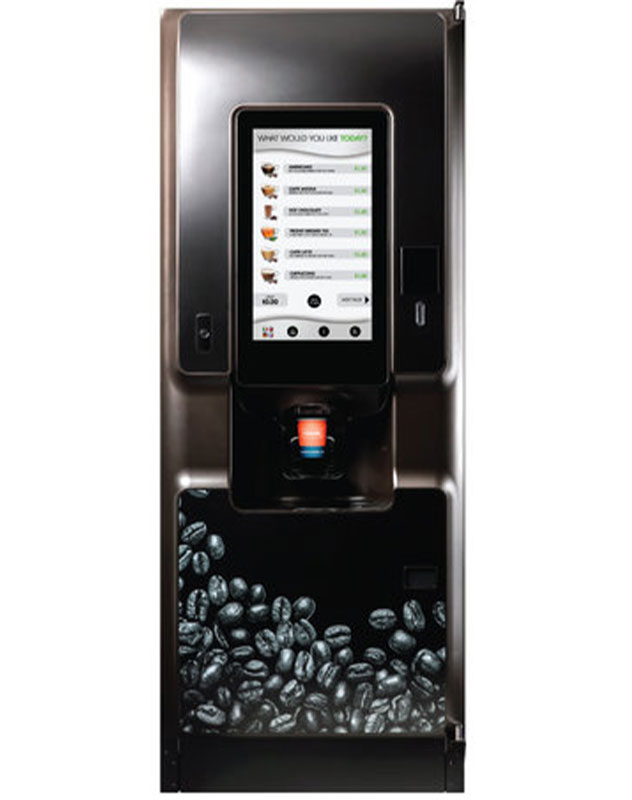 Enquire about a floorstanding hot drinks machine today!