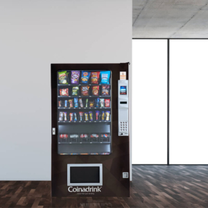 Snack and cold drinks machines from Coinadrink Limited.