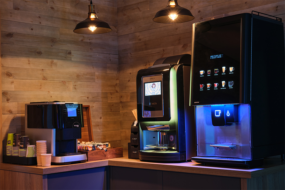 Our machines are quality checked to make sure they provide a worry-free vending experience.