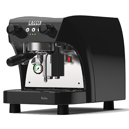 The Gaggia La Ruby commercial coffee machine is a compact but capable piece of equipment that is ideal for small to medium sized locations.