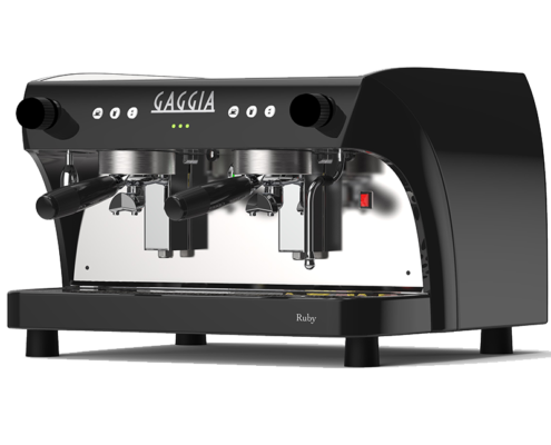 The Ruby Pro 2 traditional coffee machine.