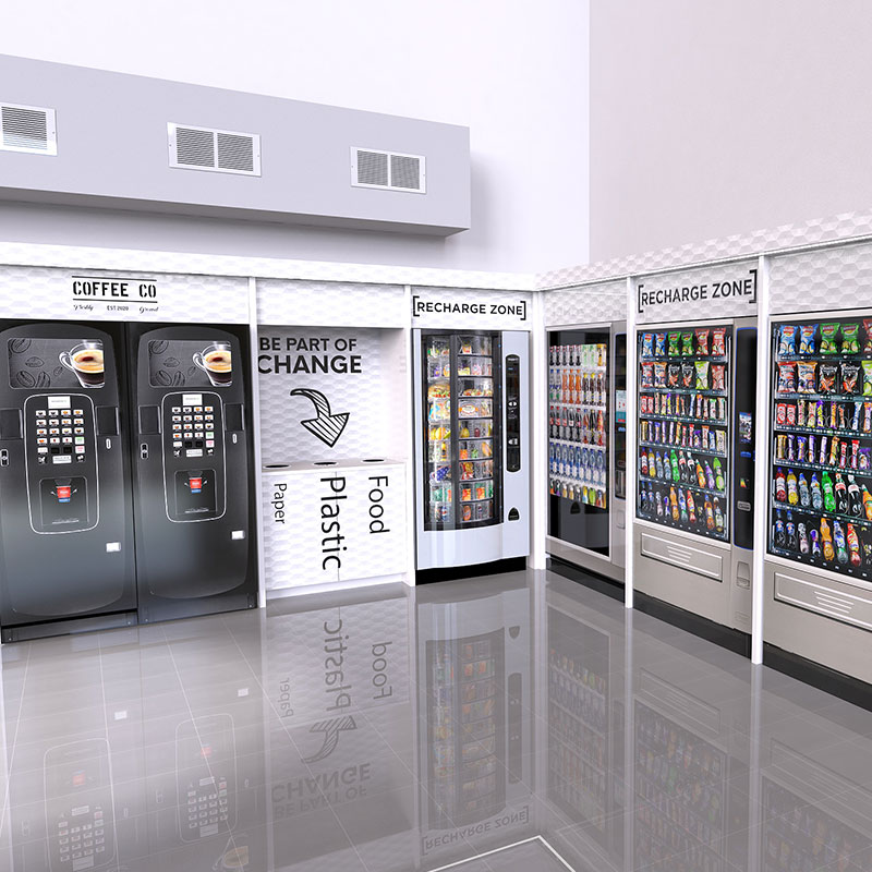 Vending surrounds from Coinadrink Limited help to protect and enhance your equipment.