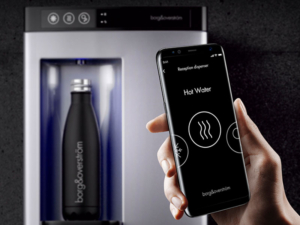 Borg's new mobile app introduces another contactless hydration experience.