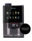 Vitro X tabletop coffee machines with contactless dispense.