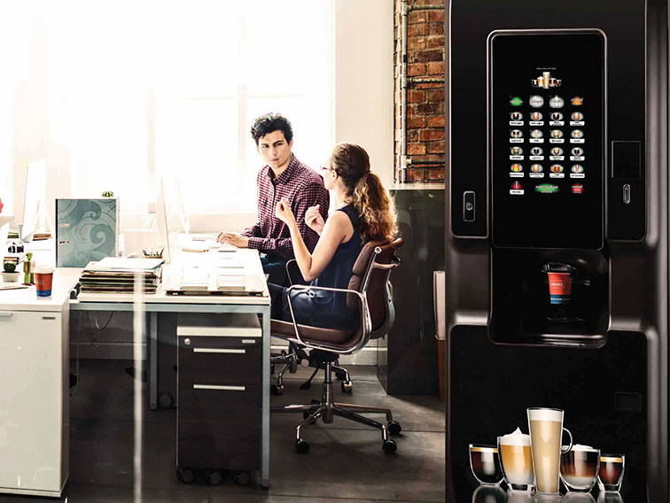Hot drinks vending machines from Coinadrink Limited.