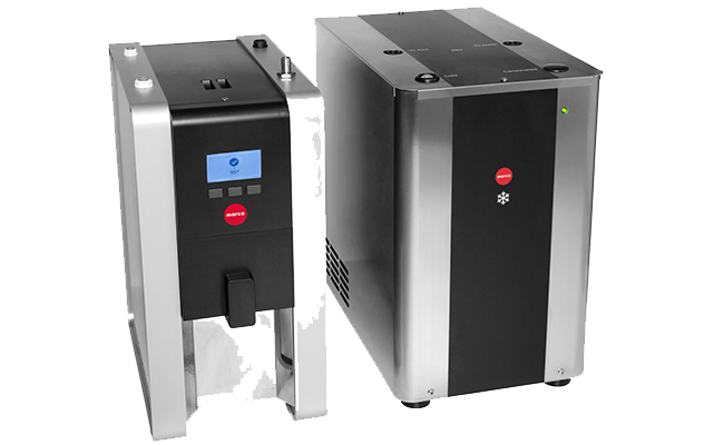 The FRIIA HCS 3L undercounter boiler and chiller.
