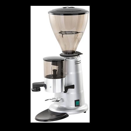 The Gaggia M64 coffee bean grinder.
