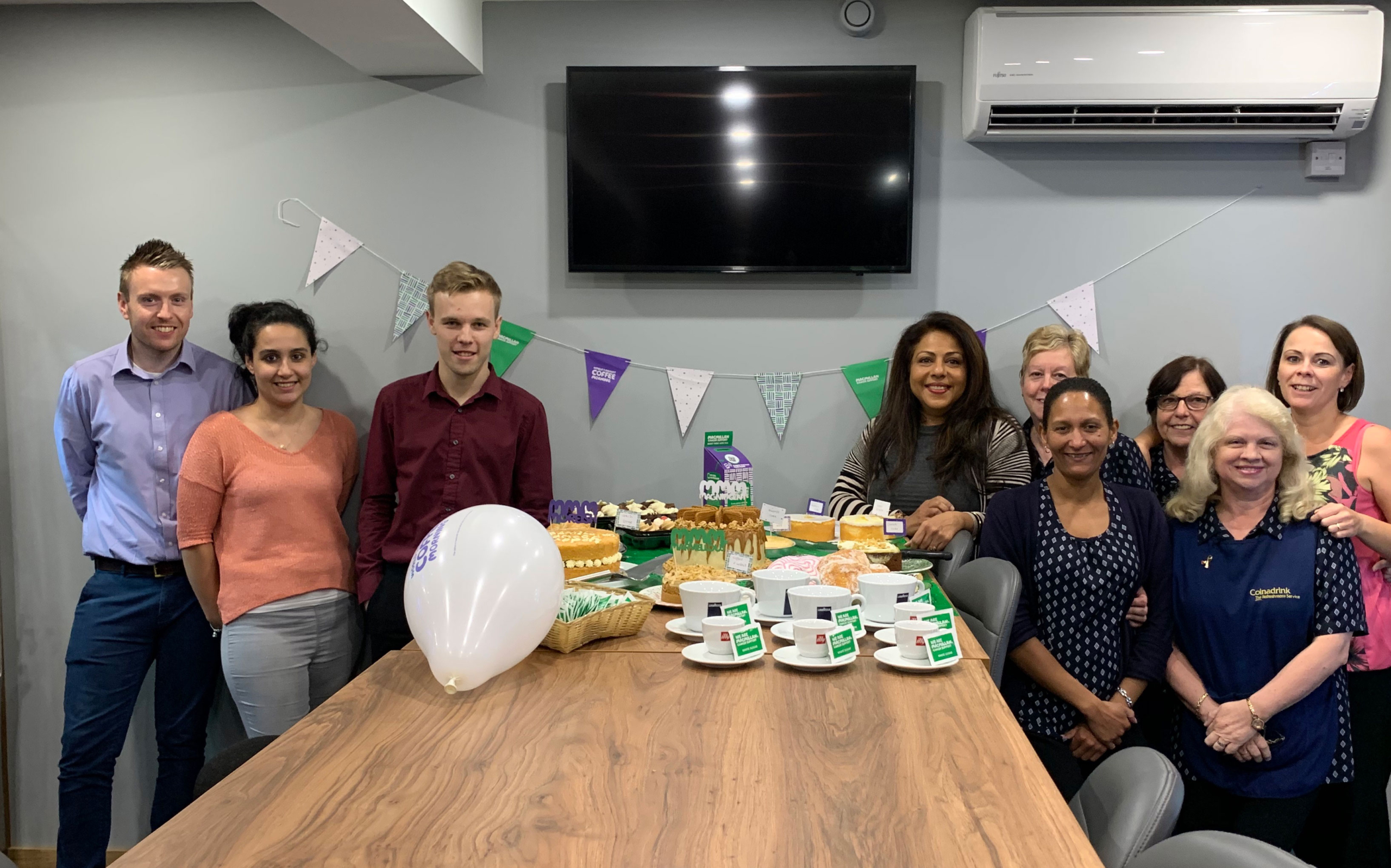 Macmillan Cancer Support Coffee Morning 2019!