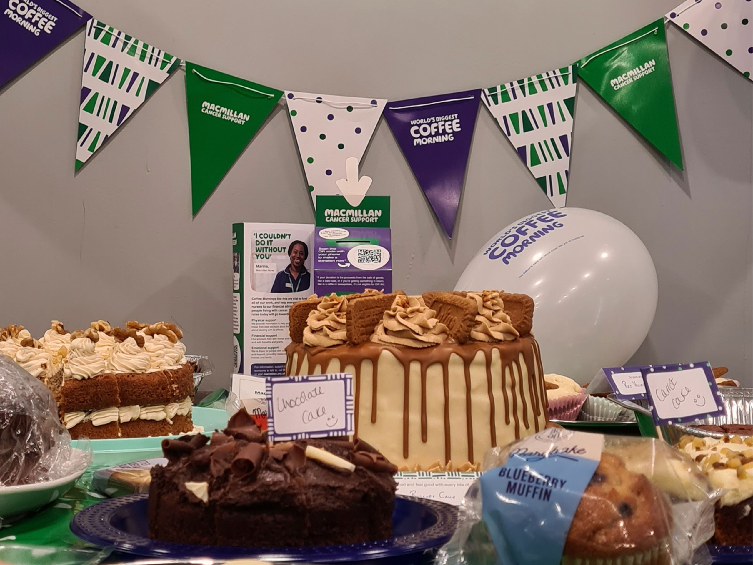 Coinadrink supports Macmillan through our coffee morning!