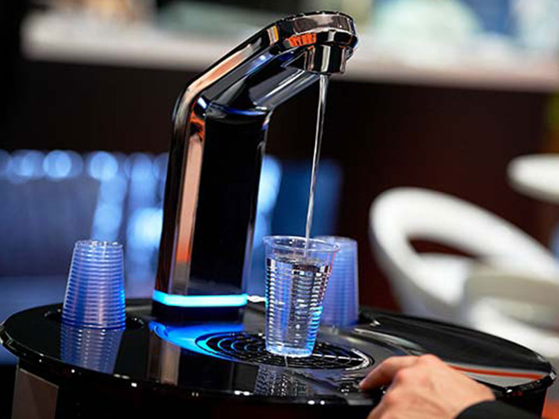 Mains fed water coolers from Coinadrink provide a stylish focal point for healthy hydration in the workplace.