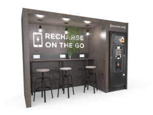 Refreshment breakout areas from Coinadrink Limited.