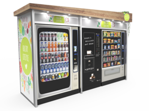 Vending surrounds enhance and protect your vending equipment.