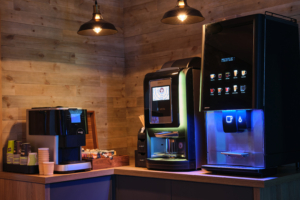 Vending machines have always been a safe entity for the provision of food and drink.