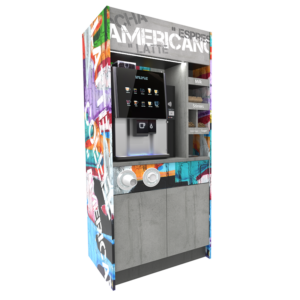 View Coinadrink's range of coffee stations.