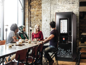 A hot drinks machine in your workplace is a great way to keep your team motivated.