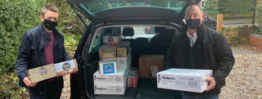 Coinadrink Limited recently supported the Hampers for Heroes campaign by teaming up with fellow Walsall based business Drain Doctor Plumbing.