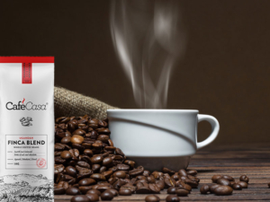 Our own coffee label is still undergoing an exciting rebrand, with our coffee beans at the heart of it.