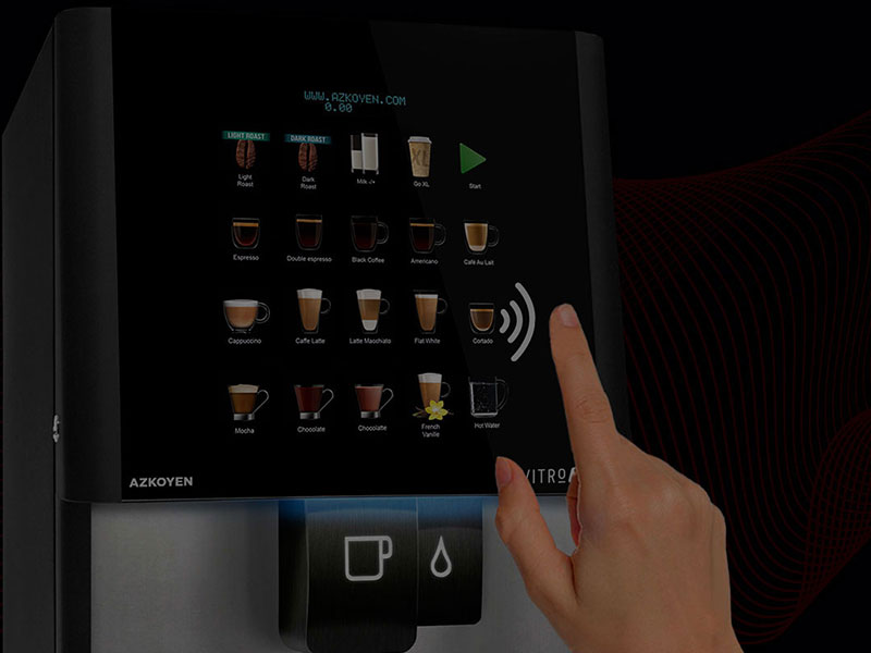 Explore Coinadrink's range of contactless vending machines.