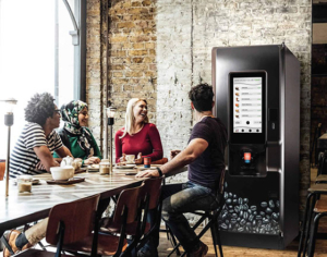 The Coti floorstanding hot drinks vending machine was our first machine arrival of 2020.