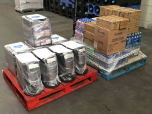 We again donated food and drink supplies to our selfless NHS to show our support during the pandemic.
