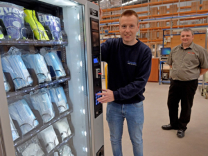 Thanks to the safety, security and flexibility of vending machines, they are a great source to stock and dispense vital PPE.