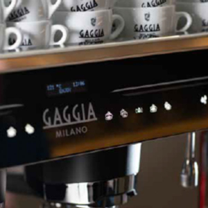 The La Precisa commercial coffee machine meticulous attention to detail.