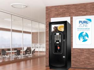 Breakthrough Purezone technology maximised hygiene when using your vending machine.