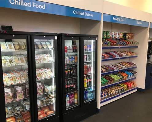 The Micro Market can be a Covid compliant catering solution for your workplace.