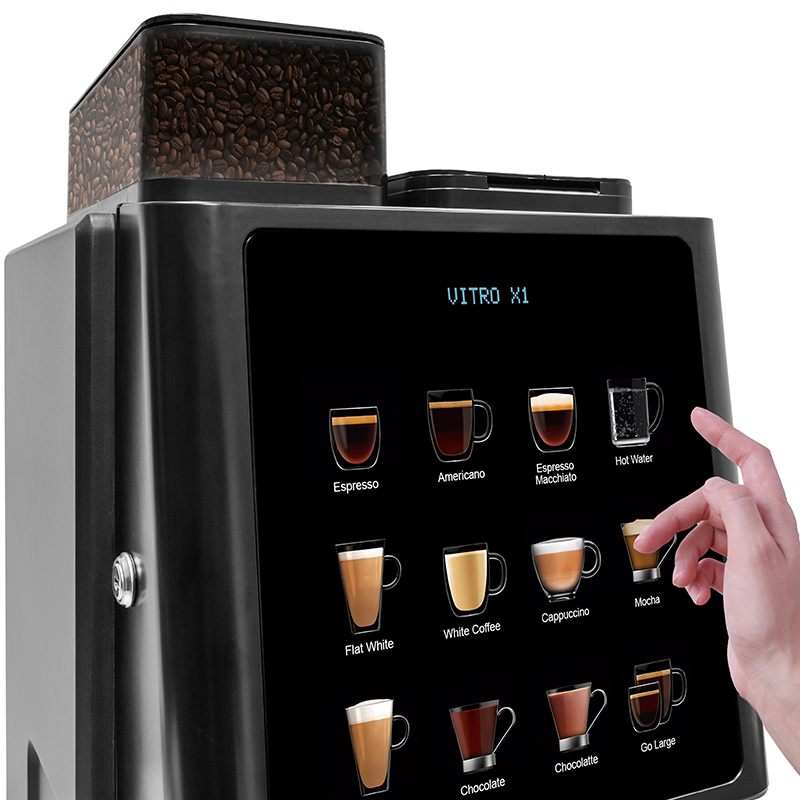 Contactless vending machines deliver peace of mind by completely eliminating shared touch points.