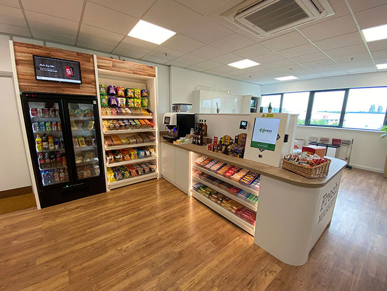 The Micro Market delivers genuine vending innovation.