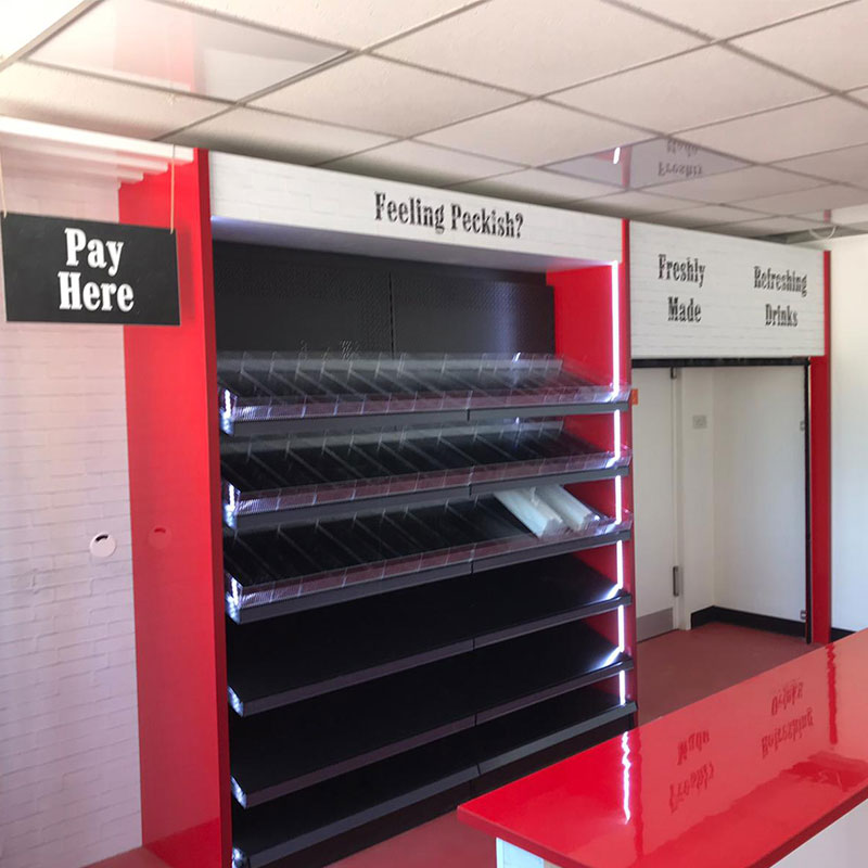 We will transform your available space into your very own Micro Market.