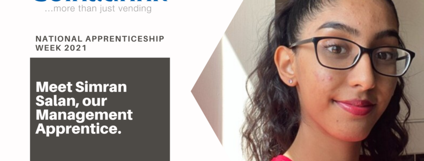 Learn more about our very own Management Apprentice Simran Salan on National Apprenticeship Week 2021!
