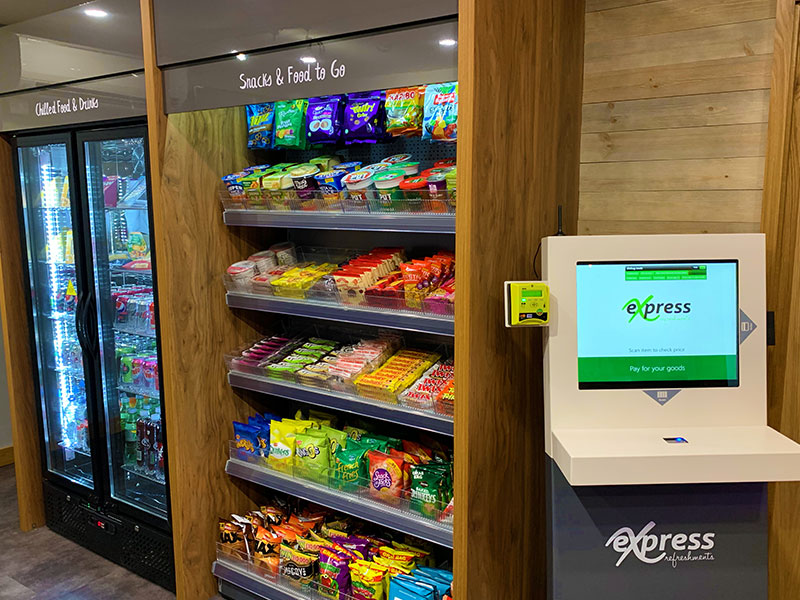 A history of the Express Refreshments Micro Market.